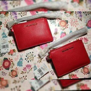 Michael kors coin purse wristlet RFID